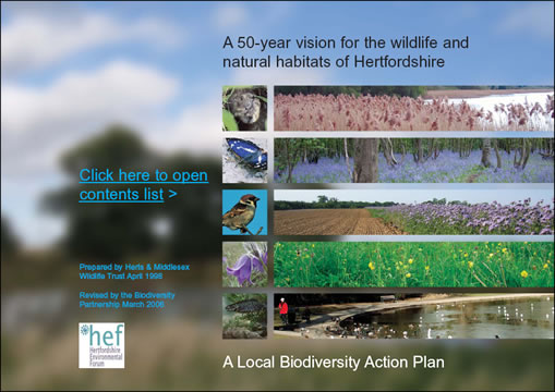 A 50 year vision - Biodiversity Action Plan